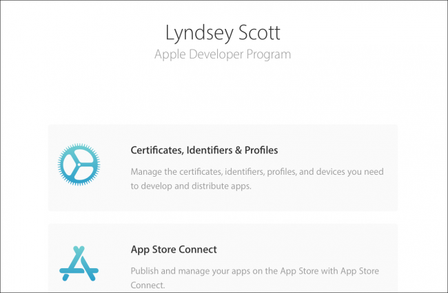Apple Certificates, Identifiers and Profiles overview