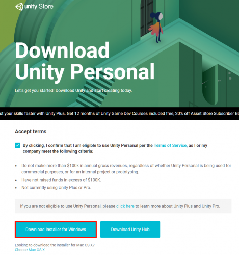 Download Unity