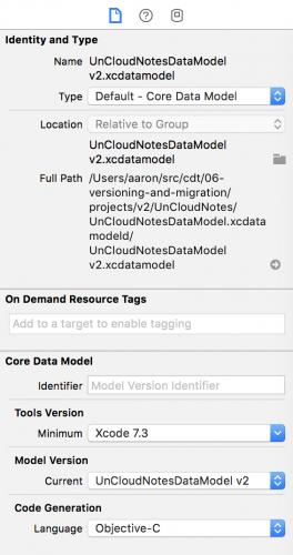 Lightweight Migrations in Core Data Tutorial | raywenderlich com