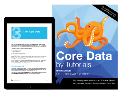 Getting Started with Core Data Tutorial | raywenderlich com