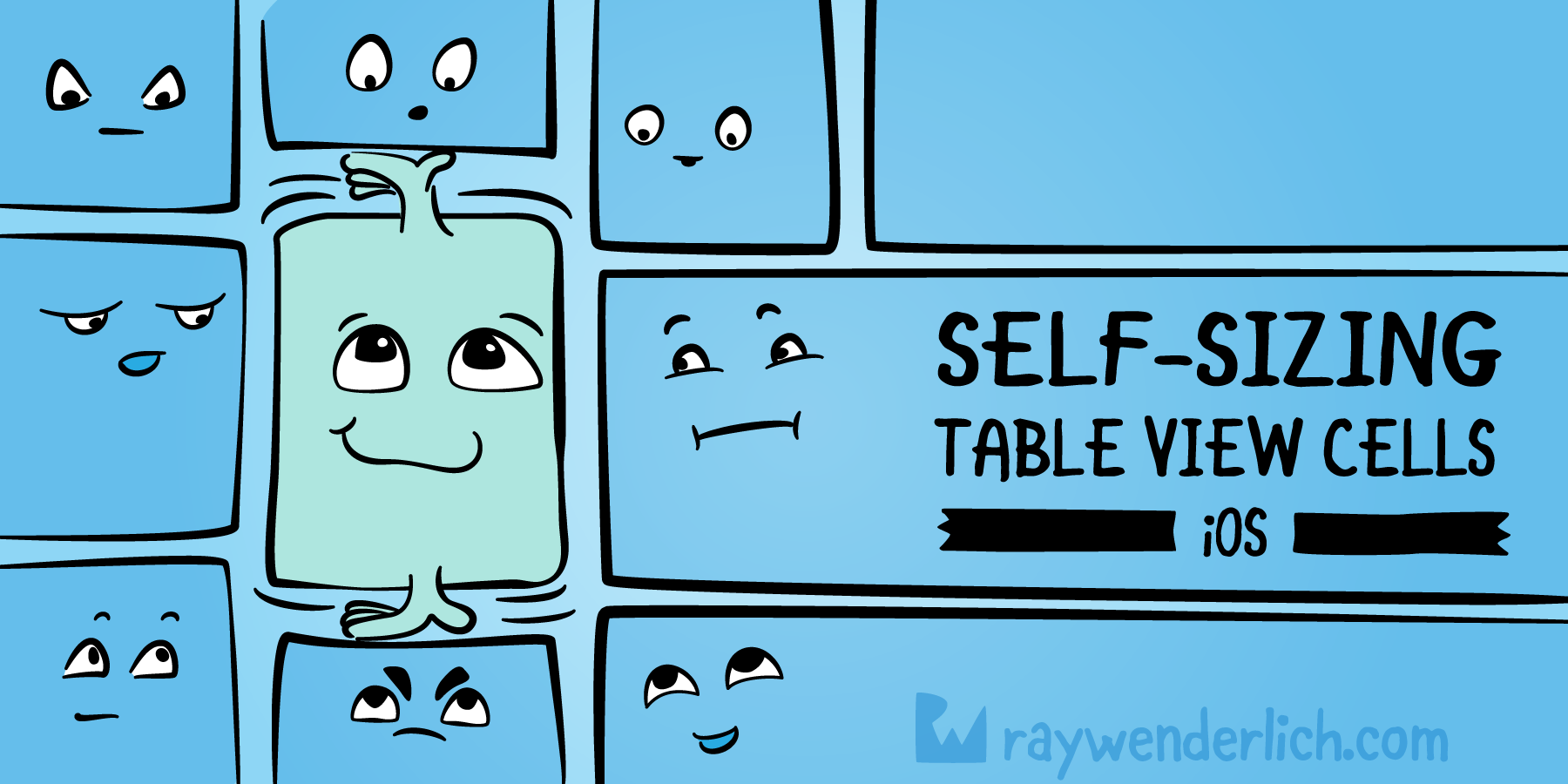 Self-sizing Table View Cells | raywenderlich com