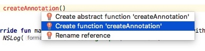 create function