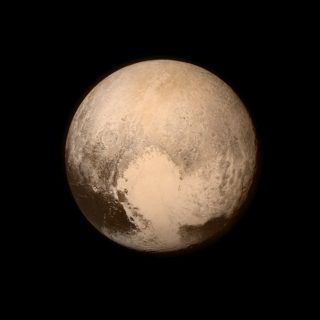The former planet Pluto