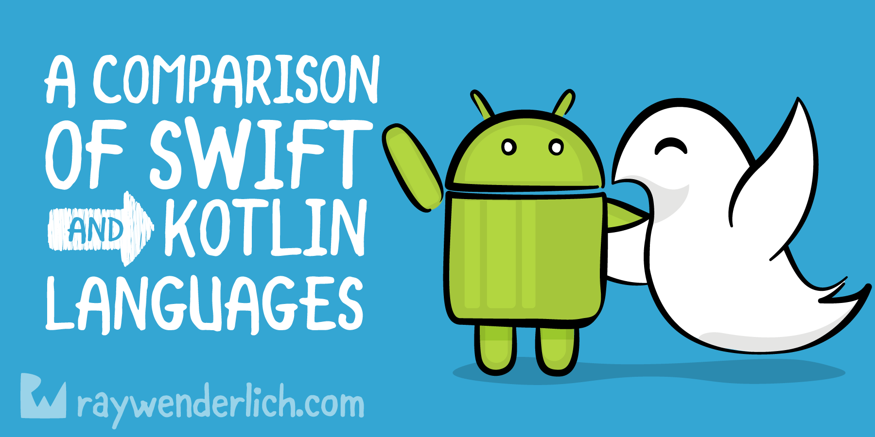 A Comparison of Swift and Kotlin Languages | raywenderlich com
