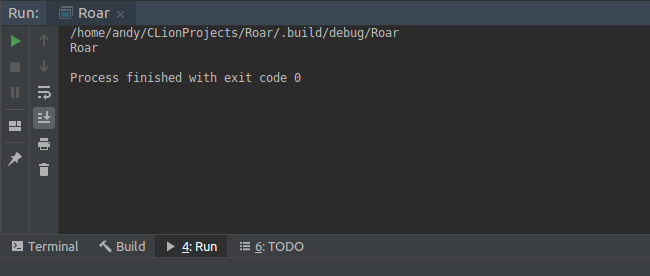 - Finished First Project 650x276 - Using CLion as an IDE for Server Side Swift Apps on Linux