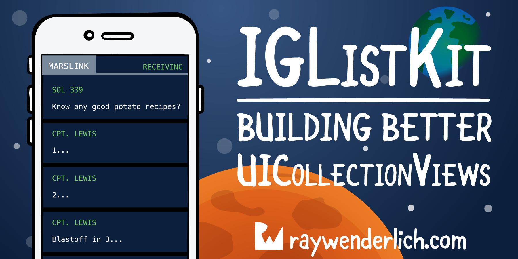 IGListKit Tutorial: Better UICollectionViews   raywenderlich com