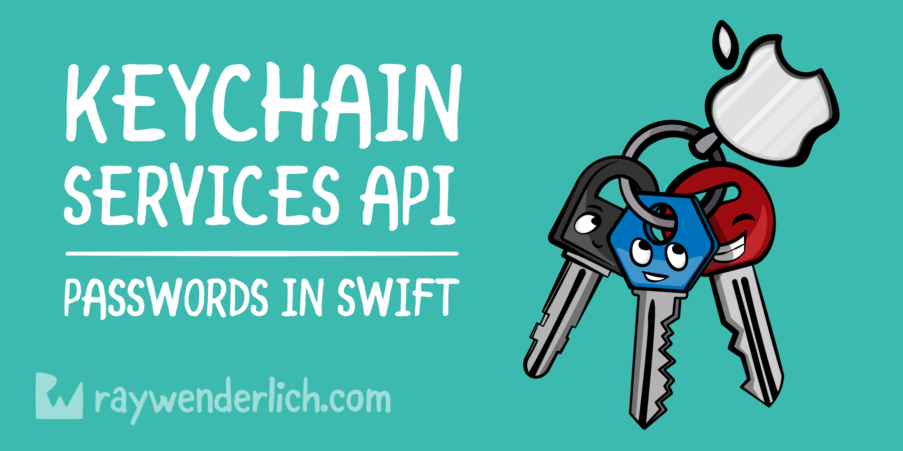 Keychain Services API Tutorial for Passwords in Swift