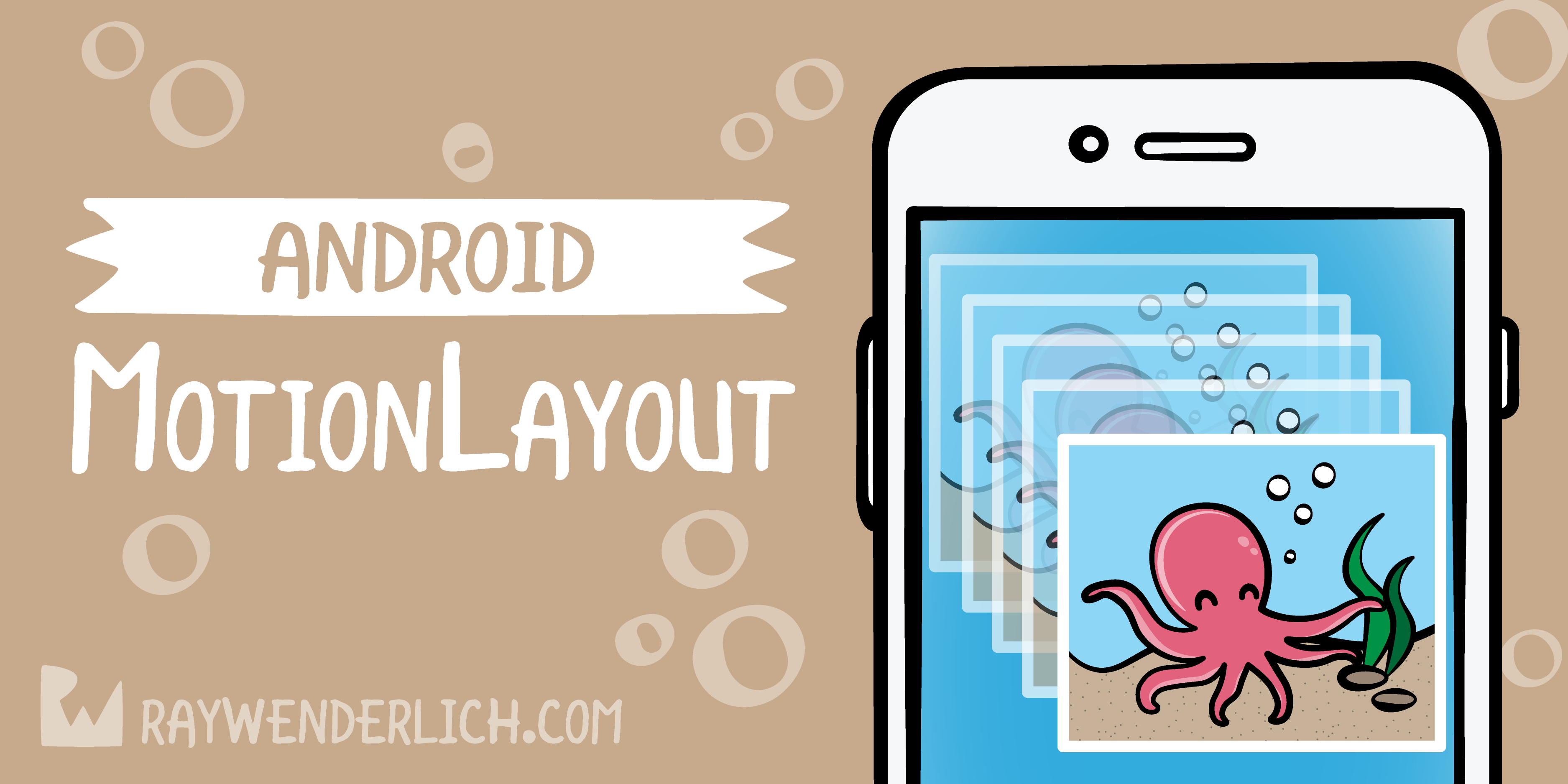 MotionLayout Tutorial For Android: Getting Started | raywenderlich com