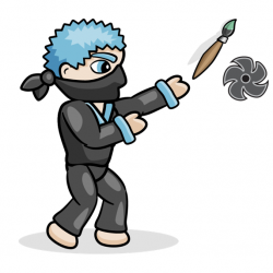 Raze face paint ninja