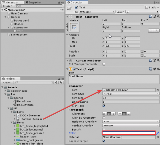 Introduction to Unity UI – Part 1 | raywenderlich com
