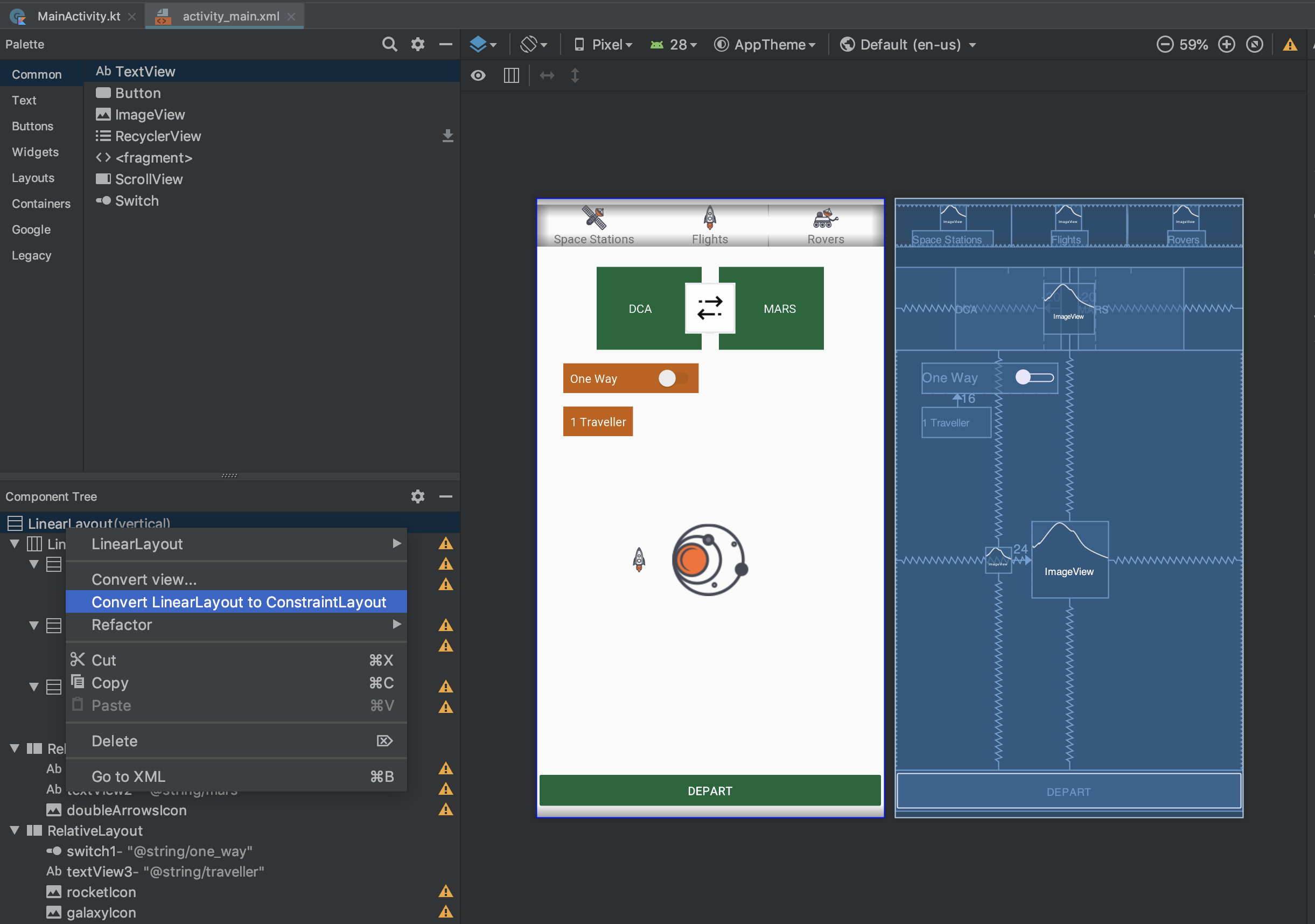 ConstraintLayout Tutorial for Android: Complex Layouts