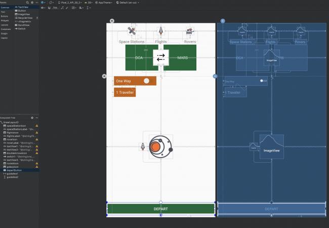 final static layout