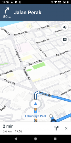 mapbox android app with turn by turn navigation