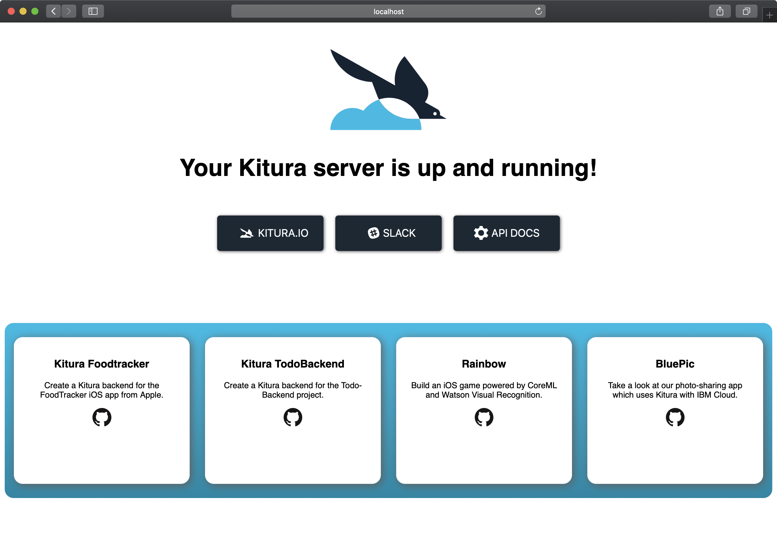 Kitura Tutorial: Getting Started With Server-Side Swift