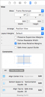 Size Inspector imageview