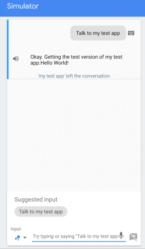 Test App Local Dev Environment