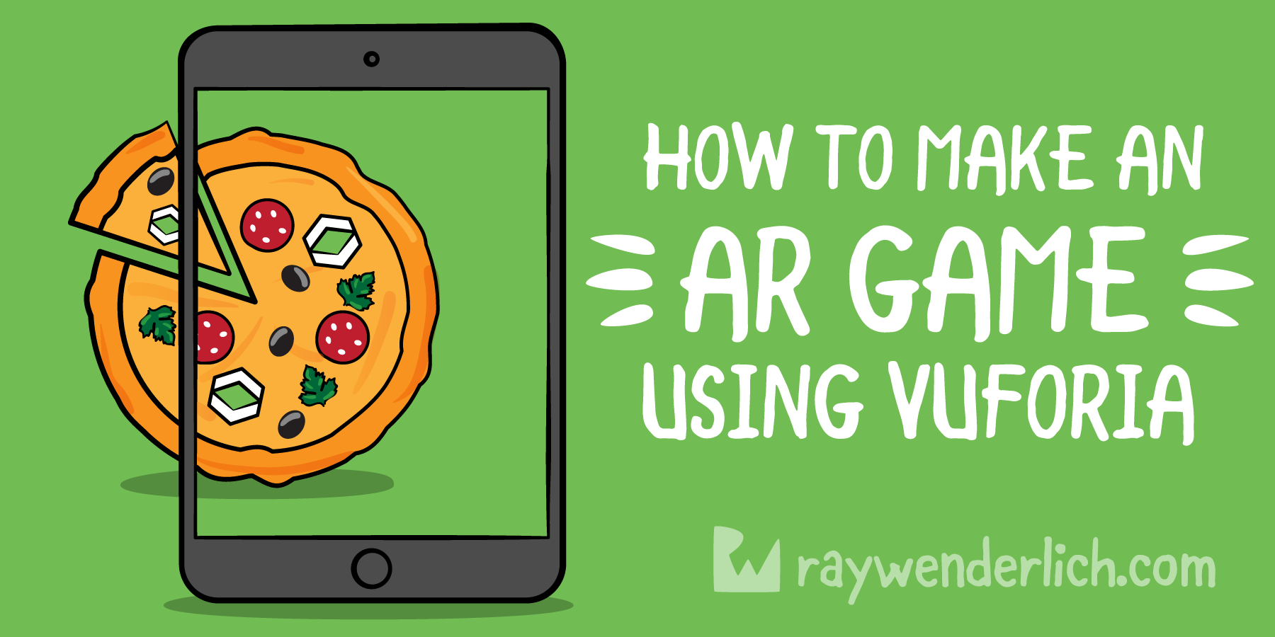 How to Make an AR Game Using Vuforia | raywenderlich com