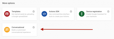 Building an Action for Google Assistant: Getting Started