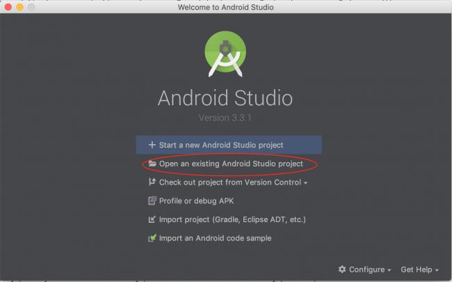Android Studio 3.3.1