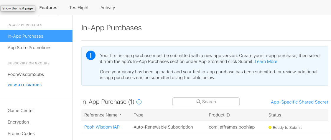 In-App Purchase Tutorial: Auto-Renewable Subscriptions