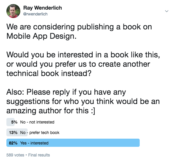 Open Call for Author: Mobile App Design Book | raywenderlich com