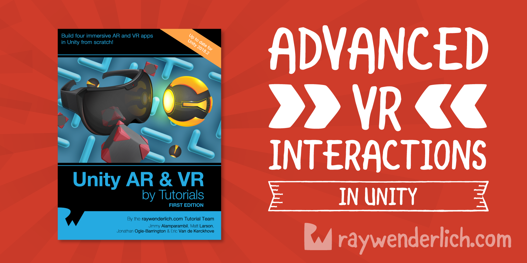 Advanced VR Interactions in Unity Tutorial | raywenderlich com