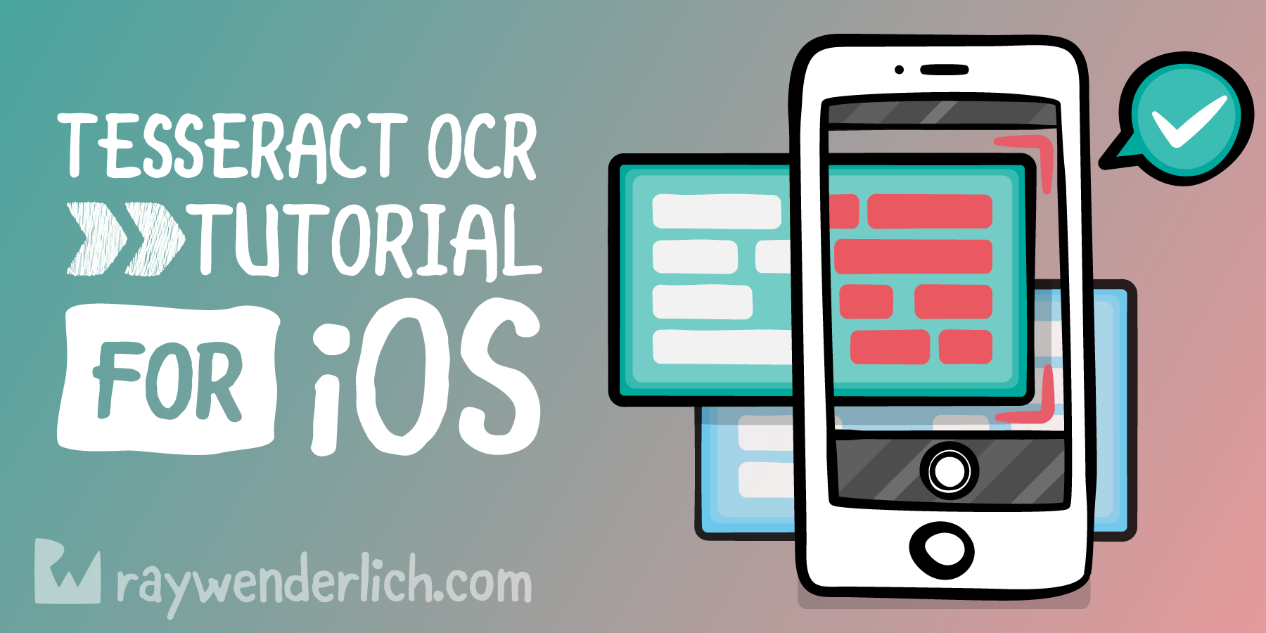 Tesseract OCR Tutorial for iOS | raywenderlich com