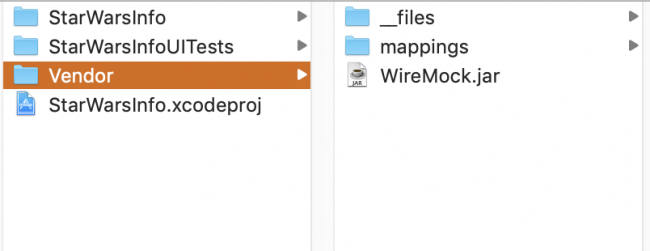 Files and Mappings Directories
