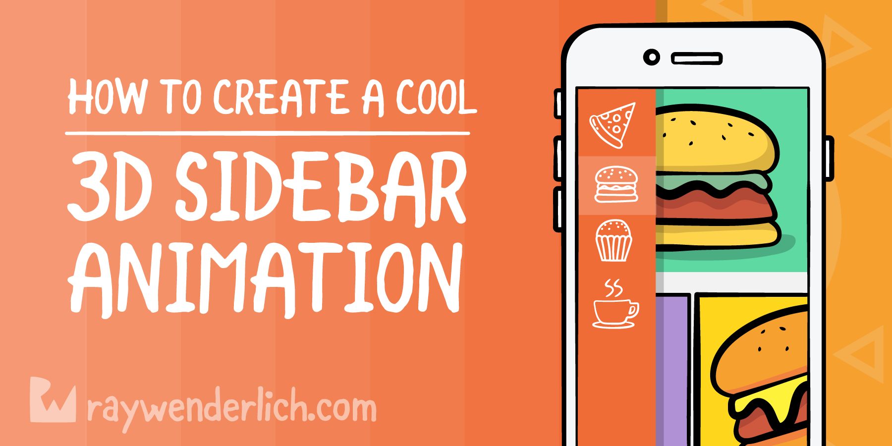 Create a Cool 3D Sidebar Menu Animation [FREE]