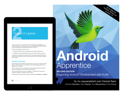 Android Apprentice Book Now Updated for Kotlin 1 3! [FREE]_Ray