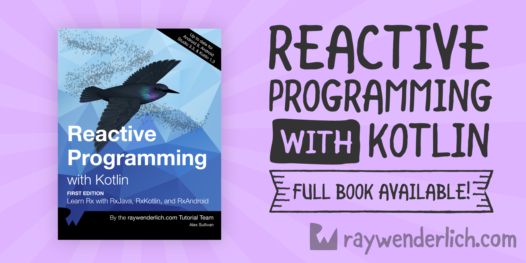 Reactive Programming with Kotlin: Complete Book Available