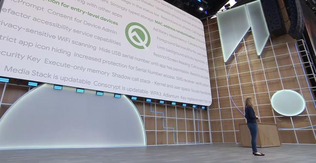 Android Q presented at Google I/O