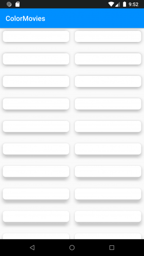empty screen