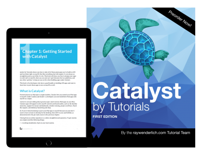 New SwiftUI, Combine and Catalyst Books: Preorders Now