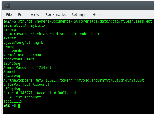 Hack an Android App: Finding Forensic Artifacts