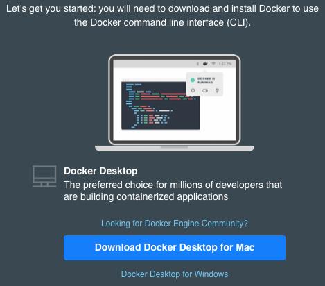 Docker Desktop Download
