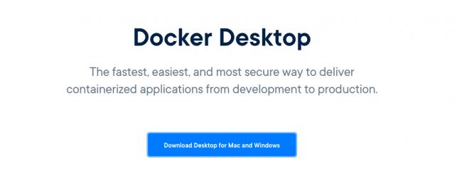 Docker Desktop Installation
