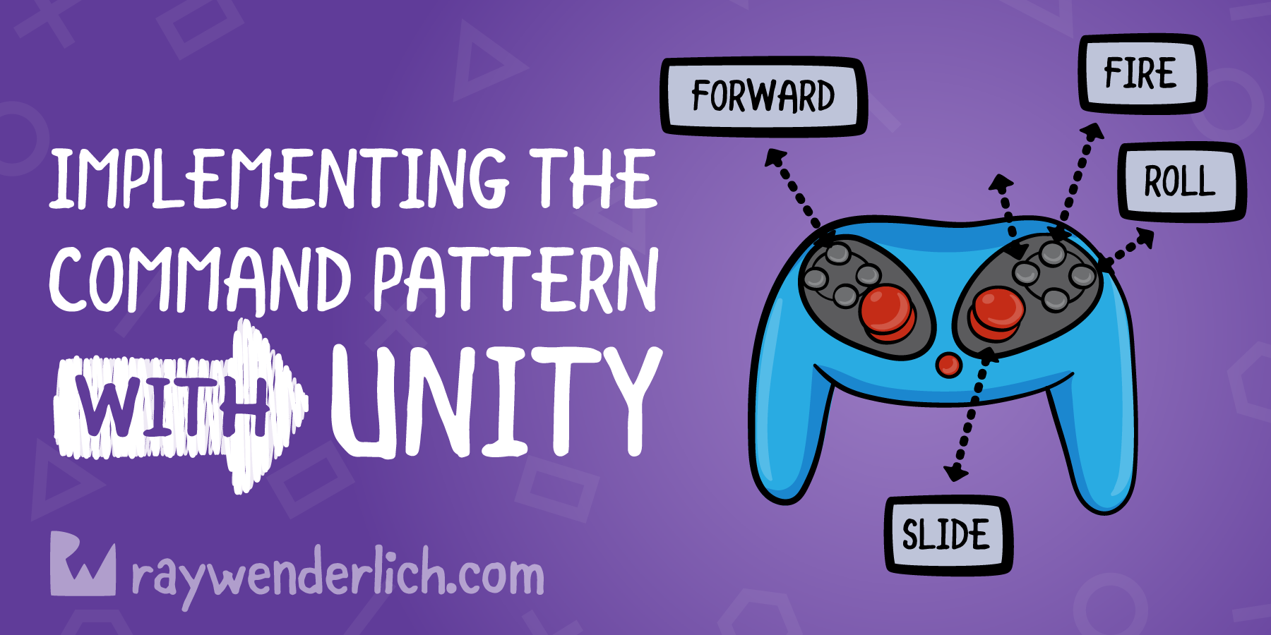 Implementing The Command Pattern In Unity | raywenderlich com