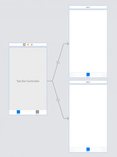 Adding TabBarController