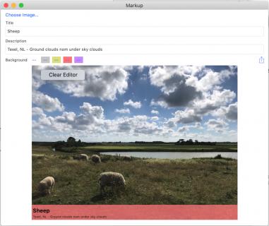context menu on Mac