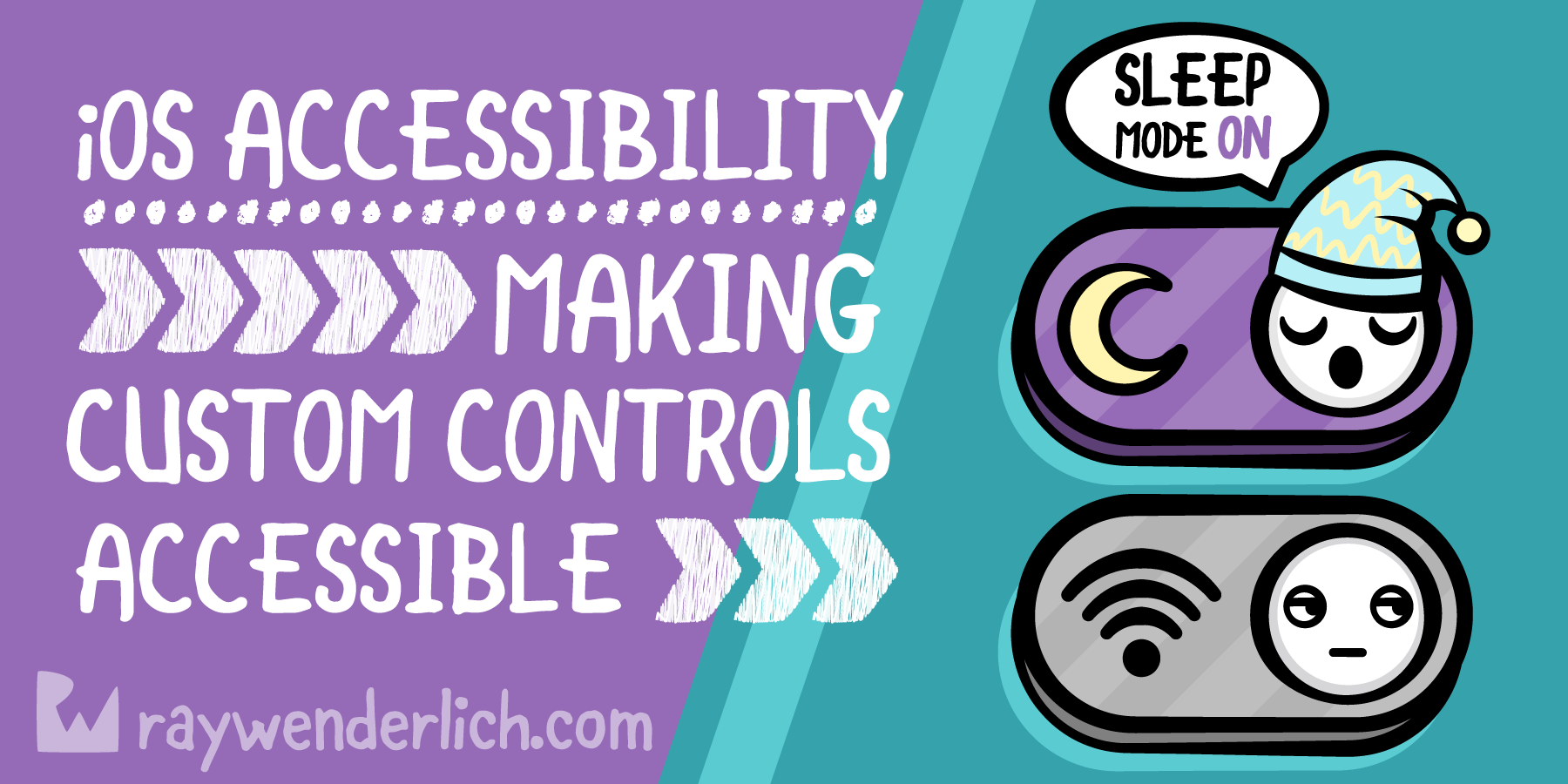 iOS Accessibility Tutorial: Making Custom Controls Accessible [FREE]