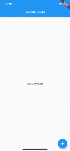 Started project