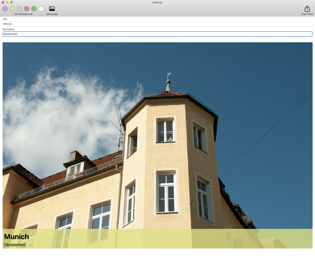 mac app with better toolbar