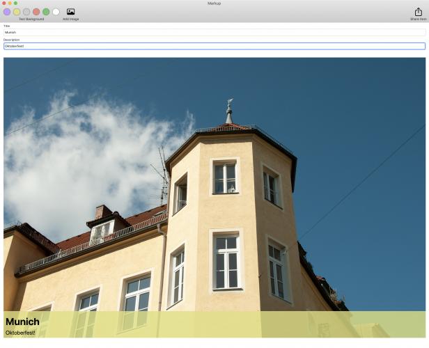 mac app with better toolbar