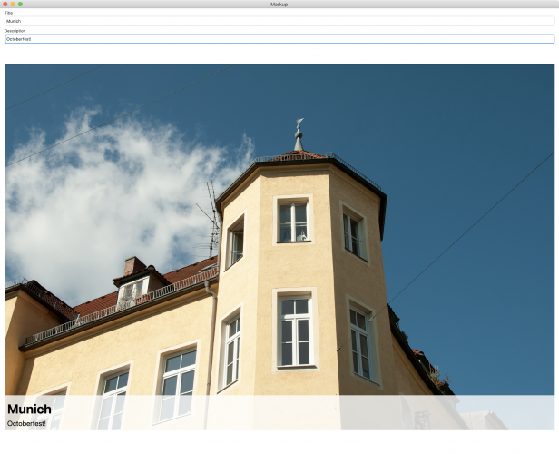 Mac app without toolbar