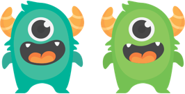 Two monsters