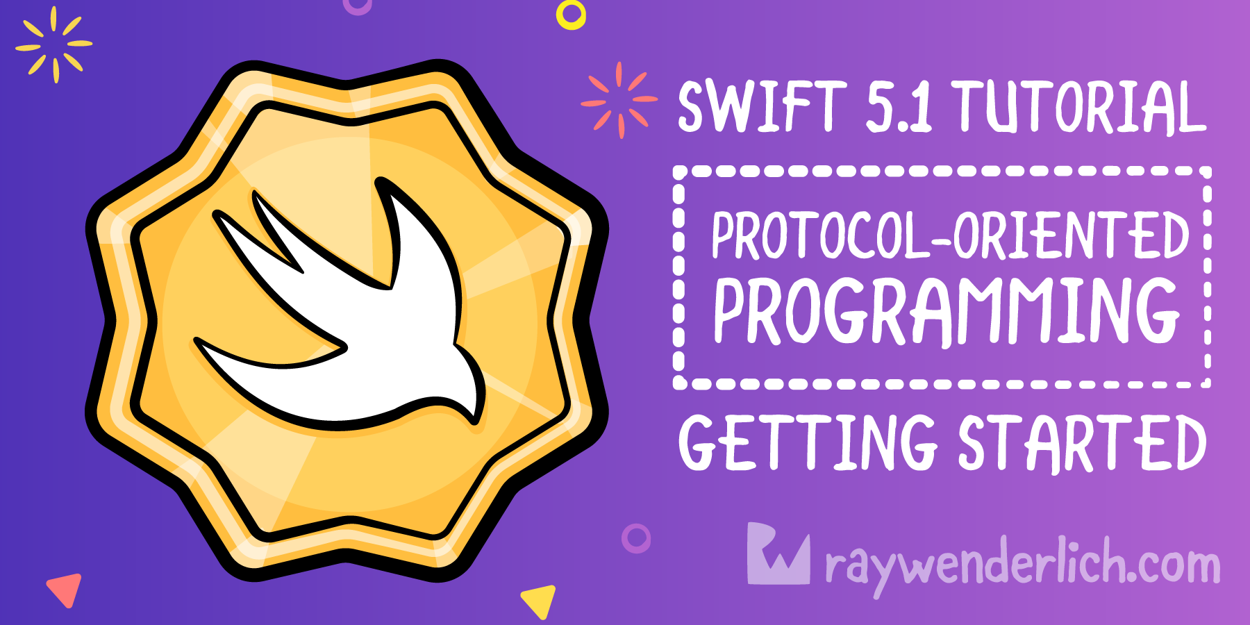 Protocol Oriented Programming Tutorial In Swift 5 1 Getting Started Raywenderlich Com