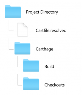 Carthage update folder structure and hierarchy