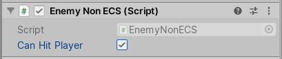 Enemy Non ECS script component