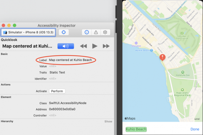 Map view label fixed: it's now Map centered at, followed by the Artwork location